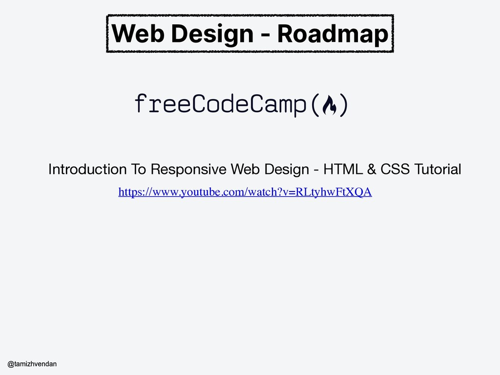 Web Design - Roadmap Introduction To Responsive...