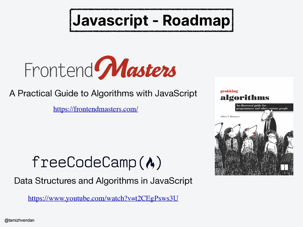 Javascript - Roadmap A Practical Guide to Algor...