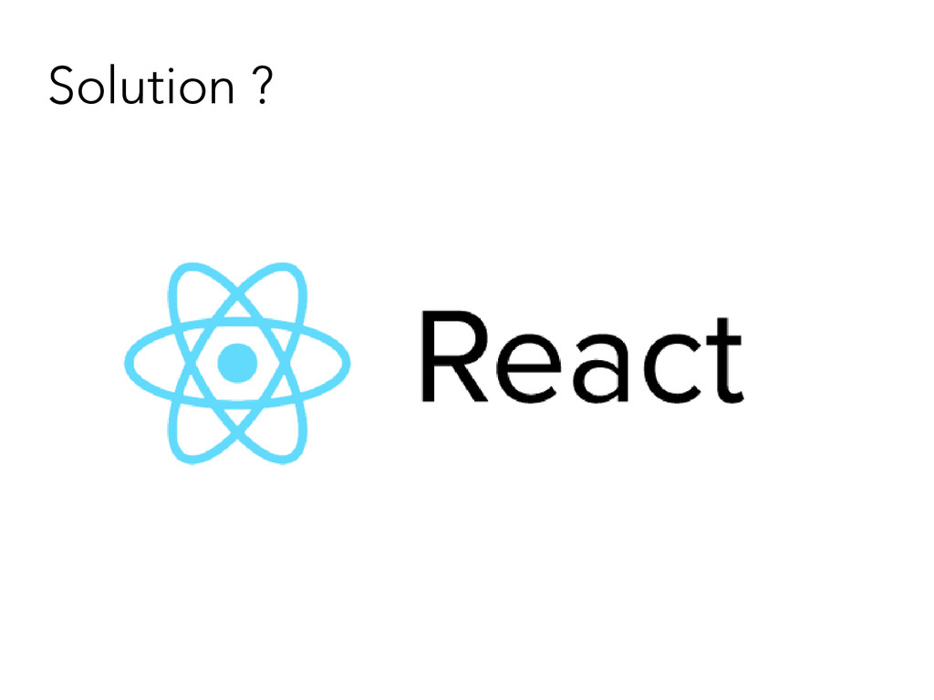 Solution ?