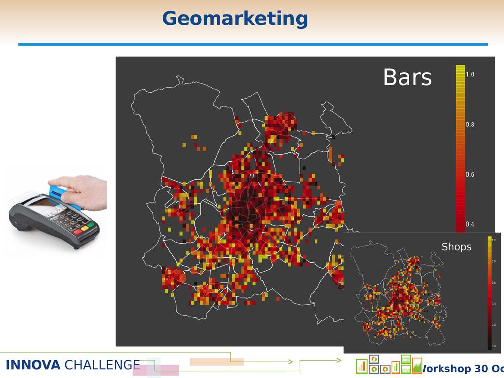 INNOVA CHALLENGE Workshop 30 Oc Bars Shops Geom...