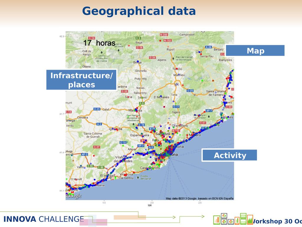INNOVA CHALLENGE Workshop 30 Oc Map Infrastruct...