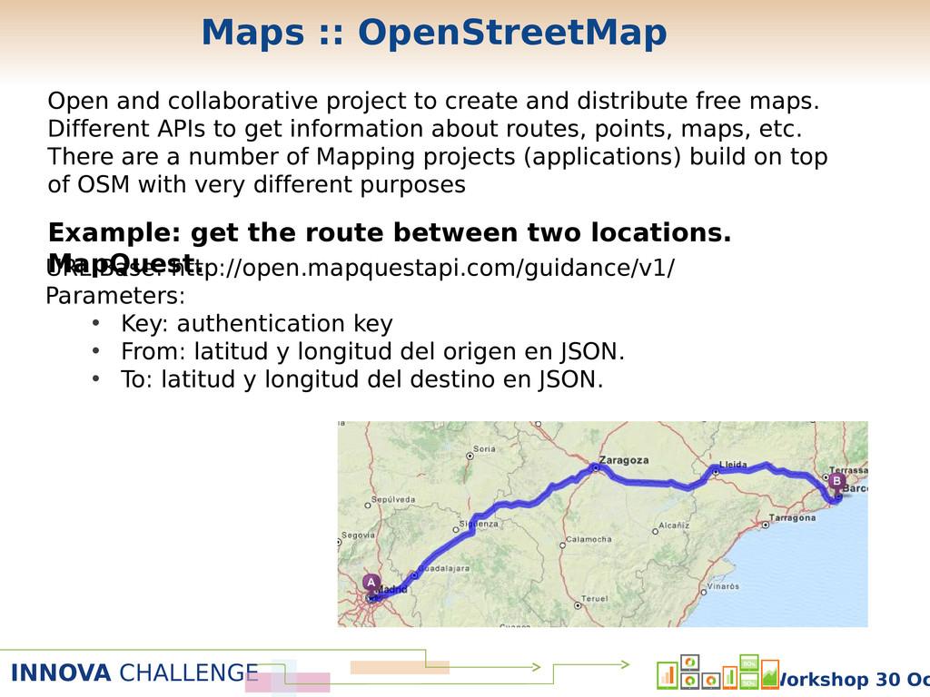INNOVA CHALLENGE Workshop 30 Oc Maps :: OpenStr...
