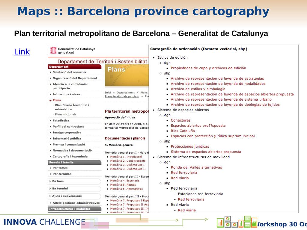 INNOVA CHALLENGE Workshop 30 Oc Plan territoria...