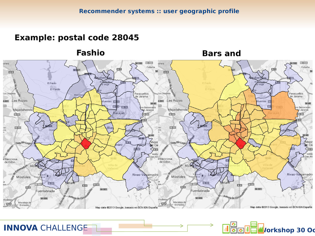 INNOVA CHALLENGE Workshop 30 Oc Fashio n Bars a...