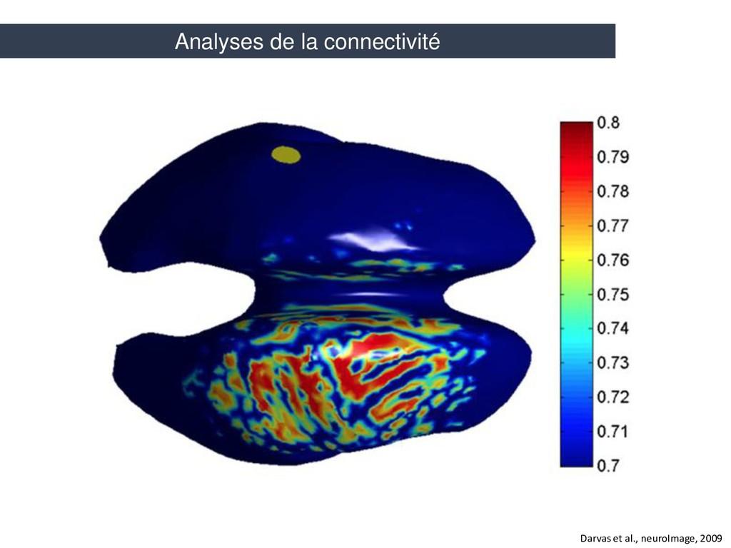 Darvas et al., neuroImage, 2009 Analyses de la ...