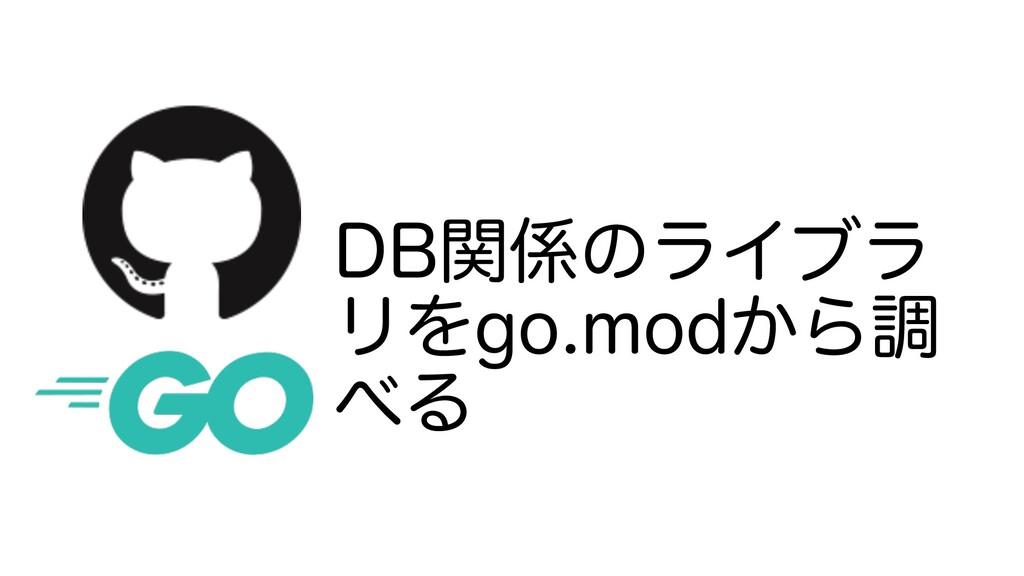 %#ؔͷϥΠϒϥ ϦΛHPNPE͔Βௐ Δ