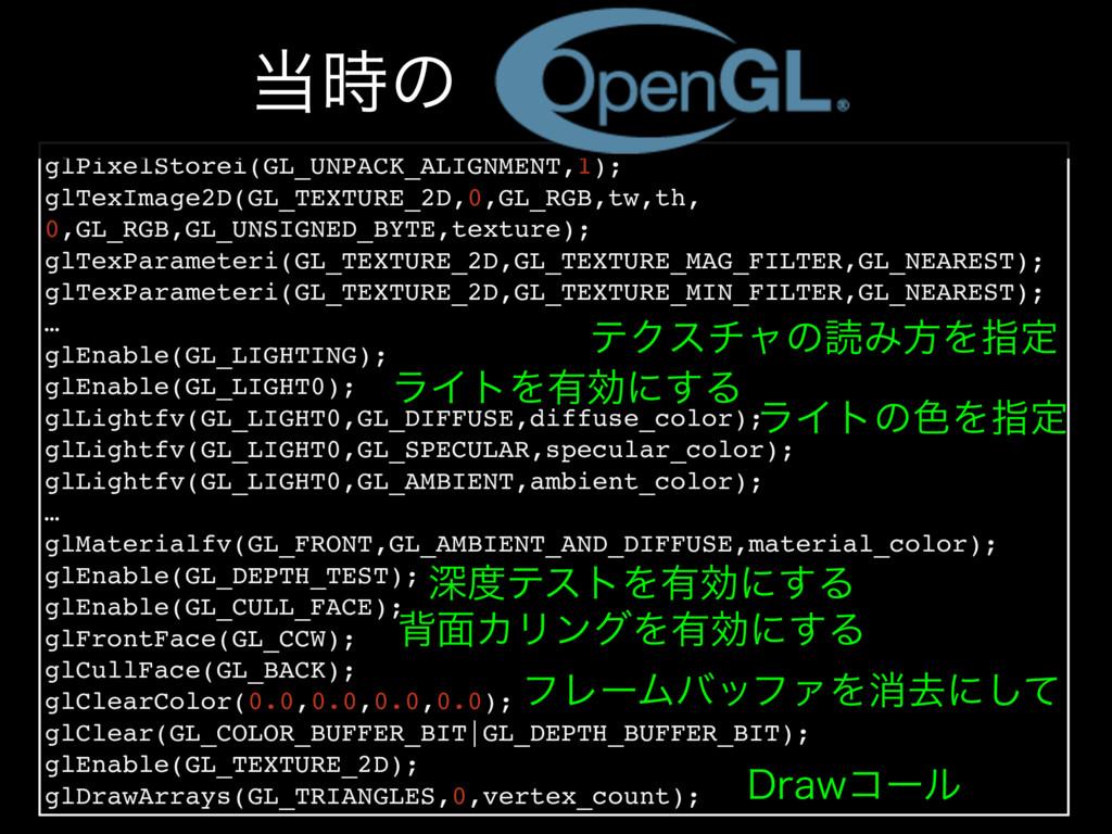 glPixelStorei(GL_UNPACK_ALIGNMENT,1); glTexImag...
