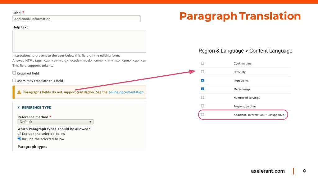 9 axelerant.com Paragraphs Translation Paragrap...