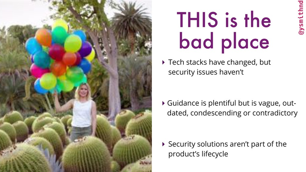 @ysmithnd THIS is the bad place ▸ Tech stacks h...
