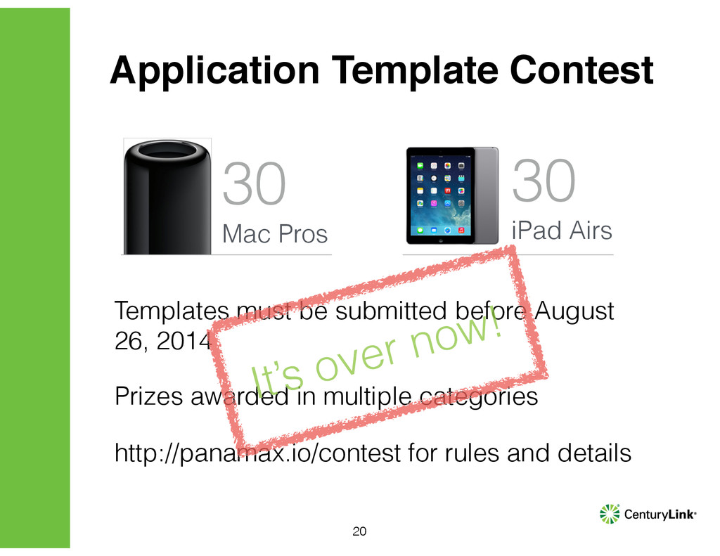 Application Template Contest 30 Mac Pros 30 iPa...
