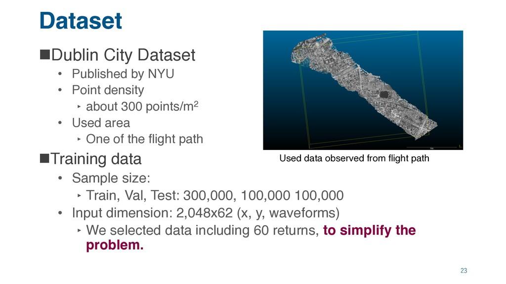 Dataset nDublin City Dataset • Published by NYU...