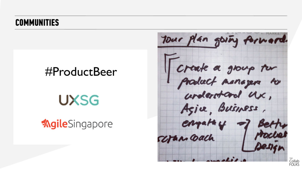COMMUNITIES #ProductBeer