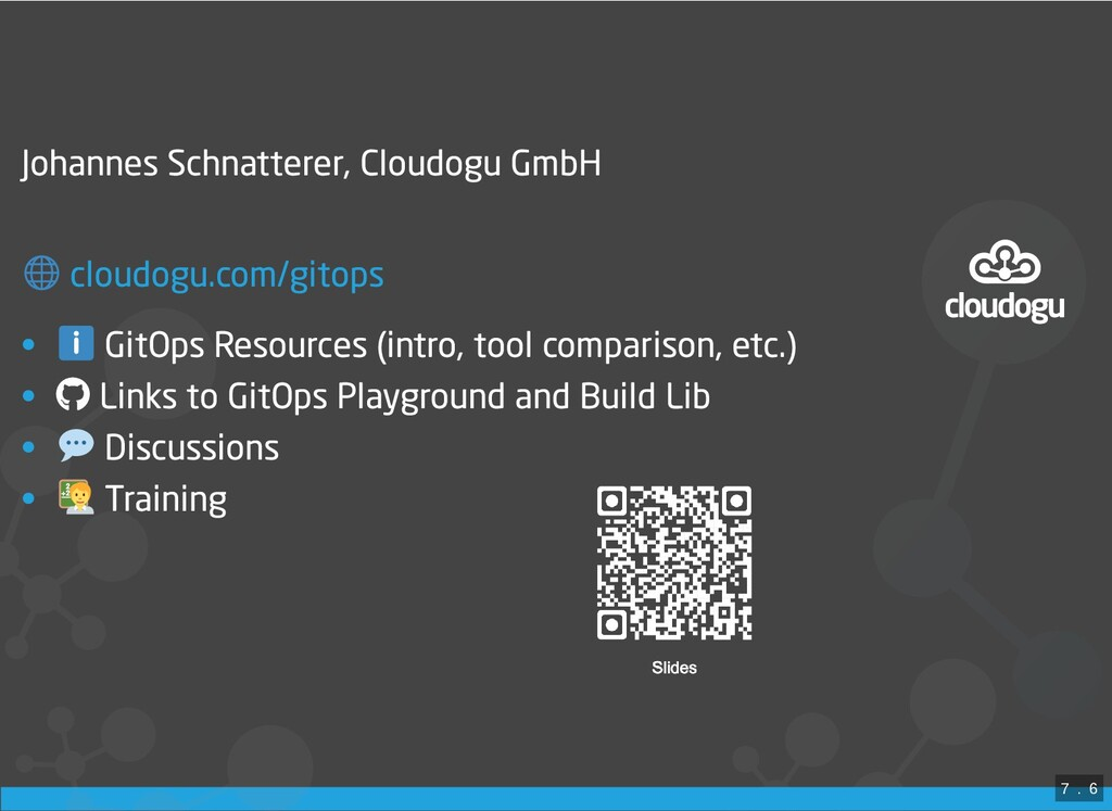 Johannes Schnatterer, Cloudogu GmbH  • GitOps R...