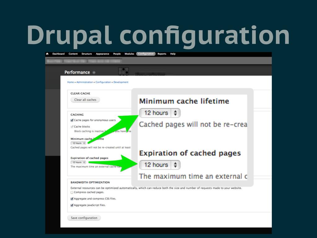 Drupal configuration