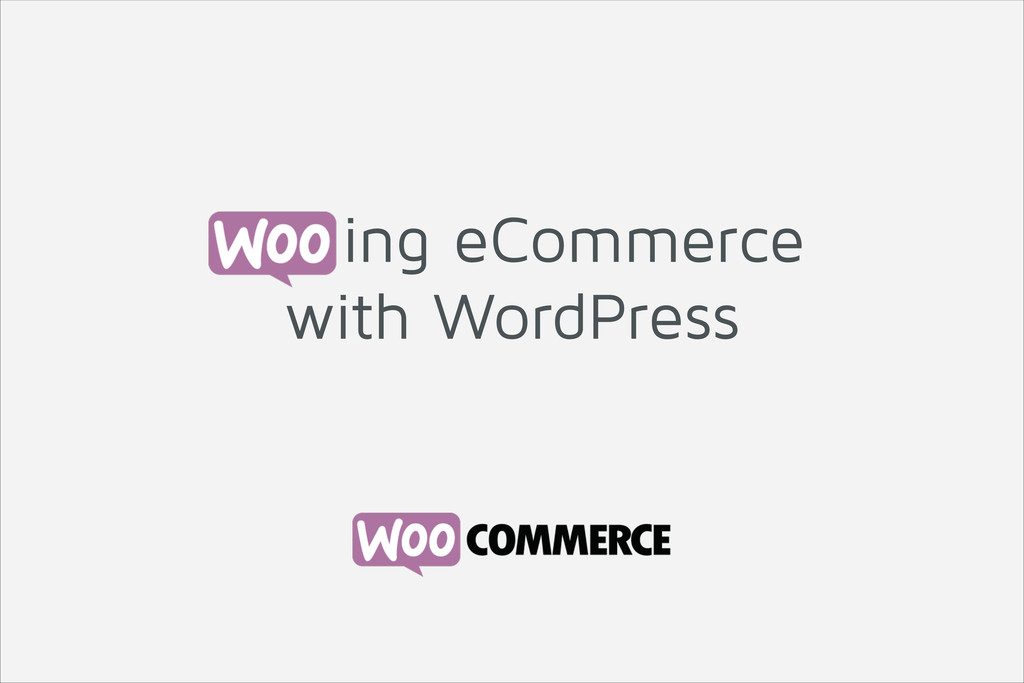 ing eCommerce with WordPress