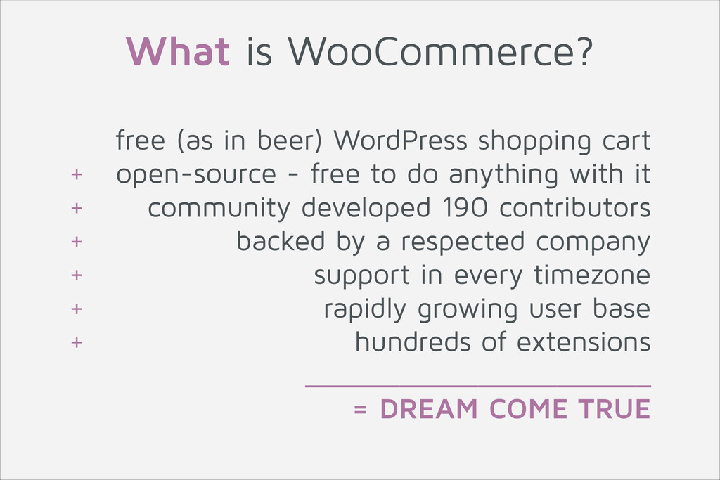 free (as in beer) WordPress shopping cart + ope...