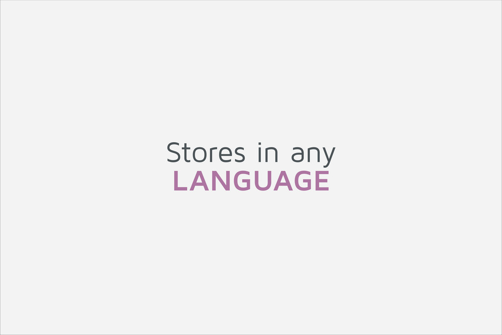 Stores in any