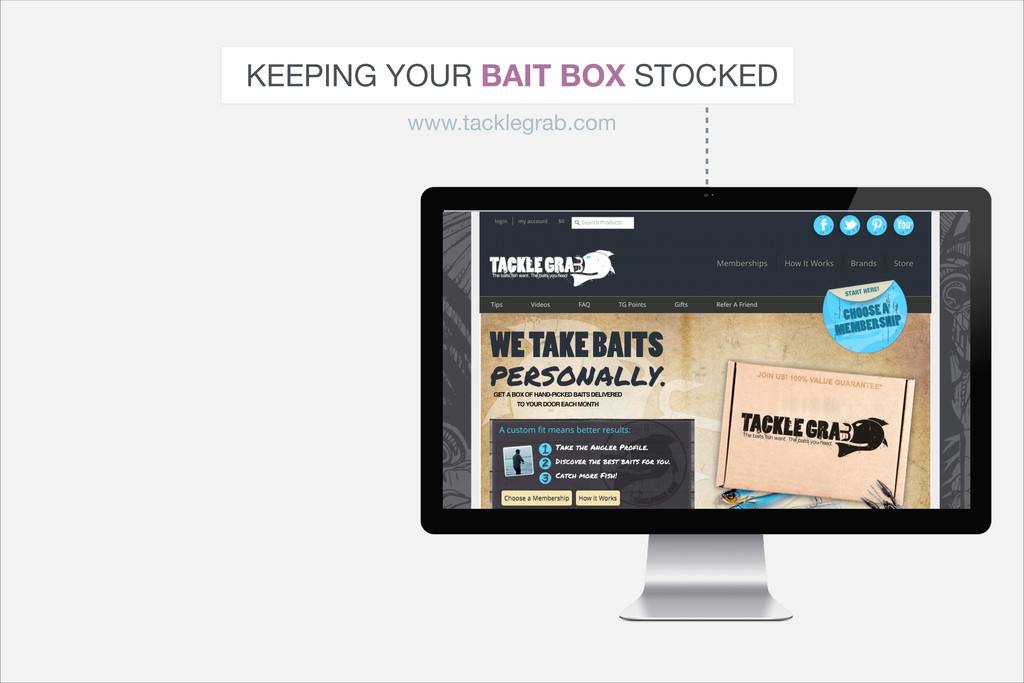 KEEPING YOUR BAIT BOX STOCKED www.tacklegrab.com
