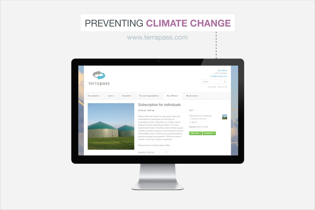 PREVENTING CLIMATE CHANGE www.terrapass.com