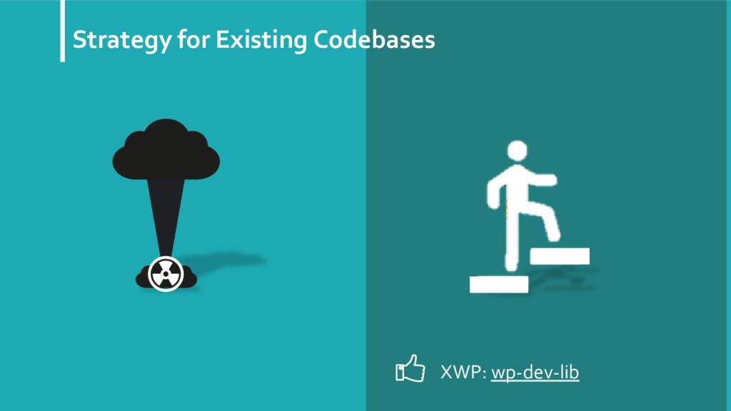 Strategy for Existing Codebases XWP: wp-dev-lib
