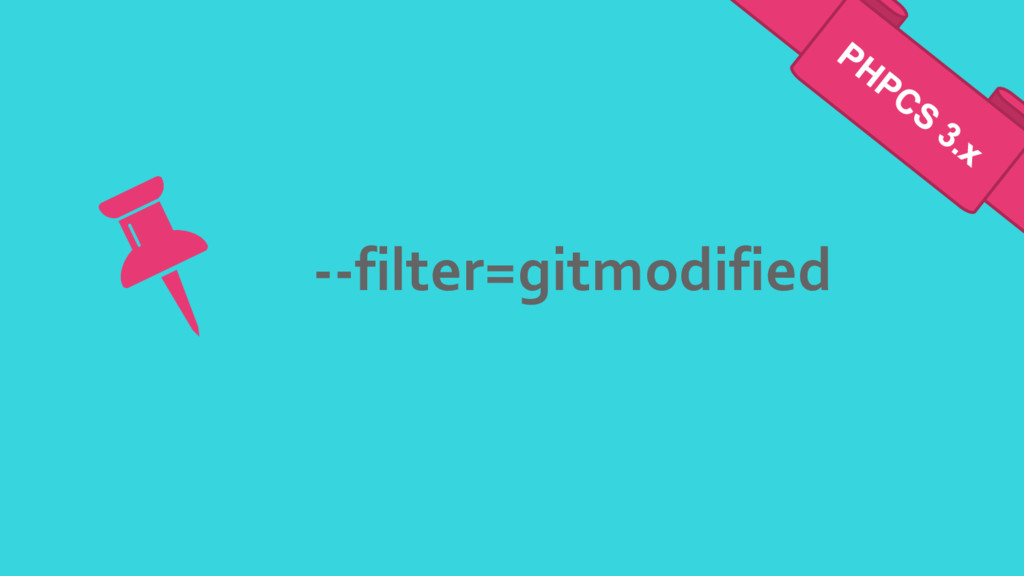 --filter=gitmodified