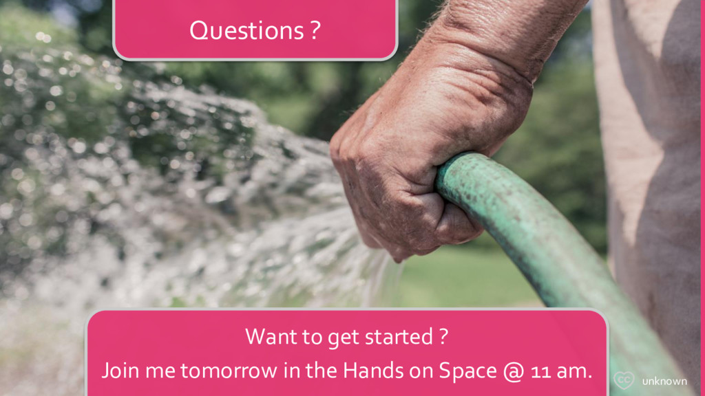 unknown Questions ? Want to get started ? Join ...