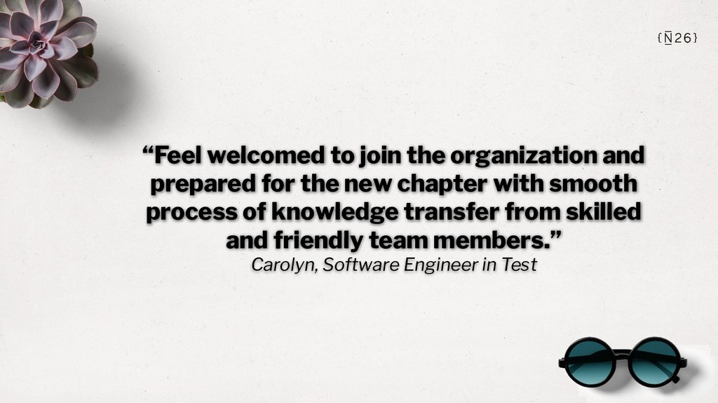 """""""Feel welcomed to join the organization and pre..."""