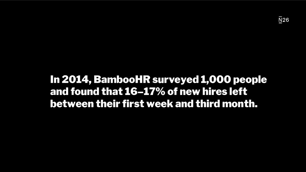 In 2014, BambooHR surveyed 1,000 people and fou...