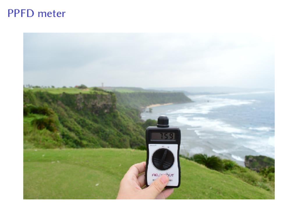 PPFD meter
