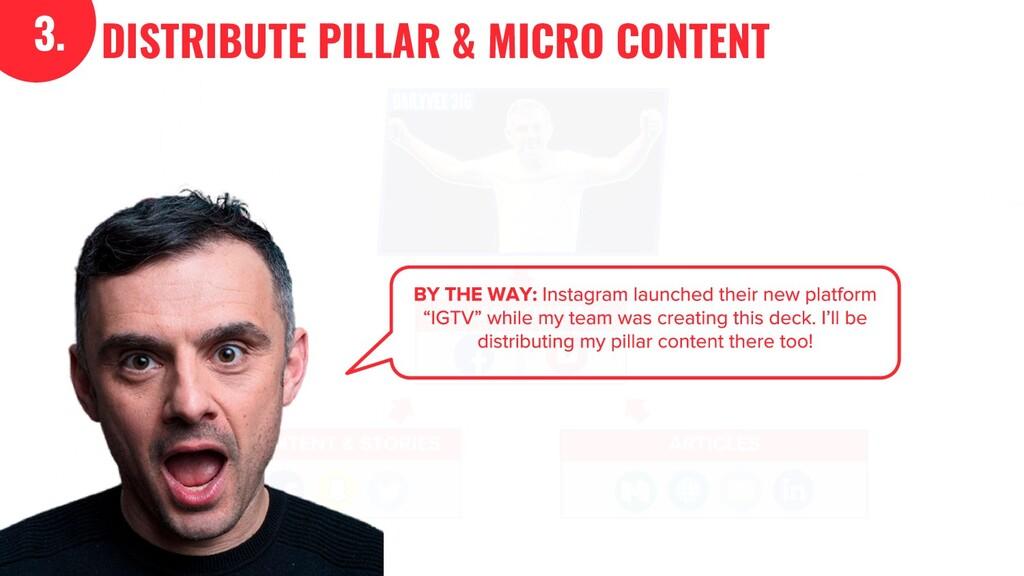 3. DISTRIBUTE PILLAR & MICRO CONTENT 3.