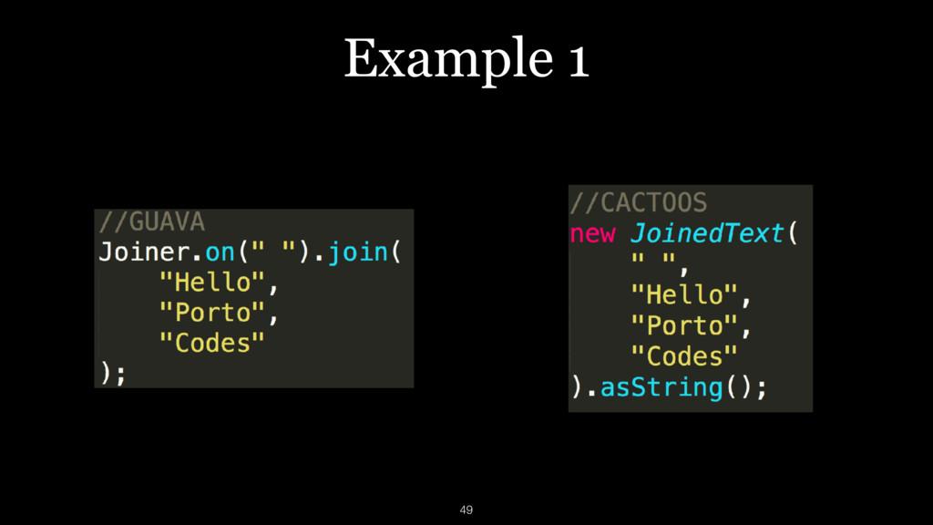 Example 1 49