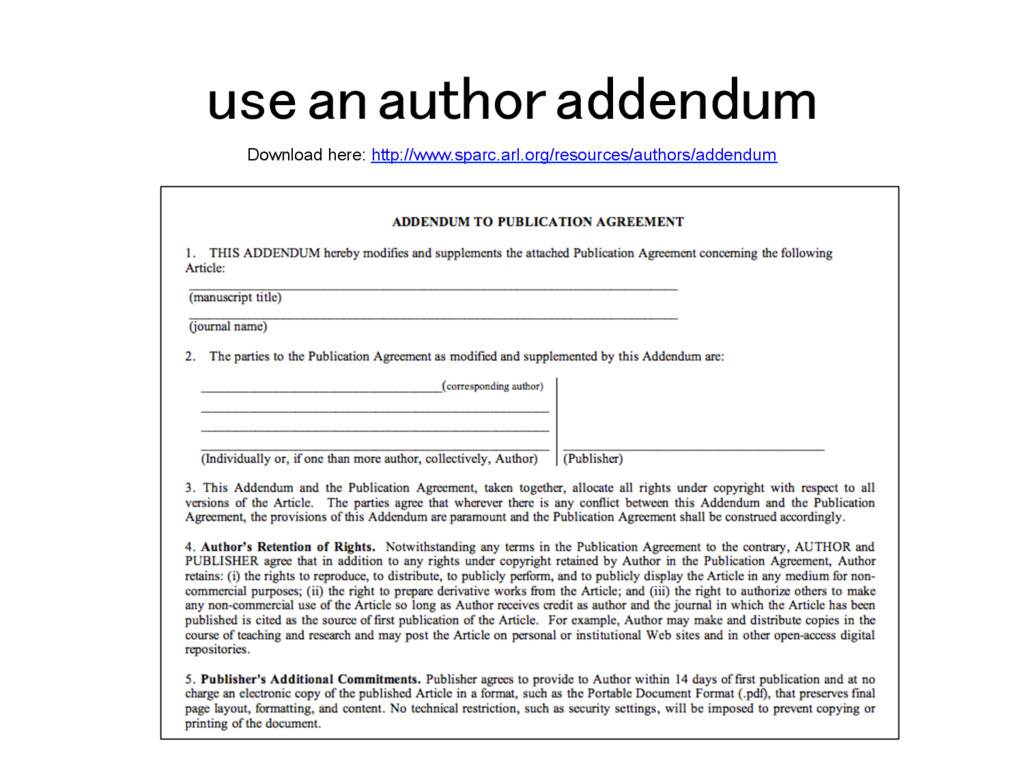 use an author addendum! Download here: http://w...