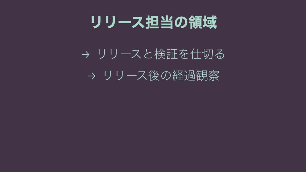 ϦϦʔε୲ͷྖҬ → ϦϦʔεͱݕূΛΔ → ϦϦʔεޙͷܦա؍