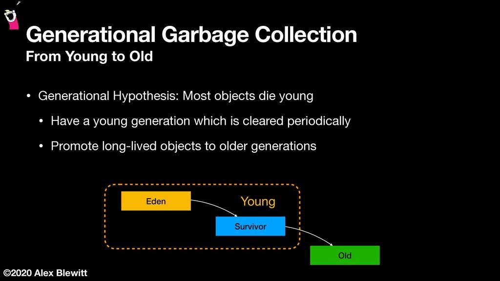 ©2020 Alex Blewitt Generational Garbage Collect...