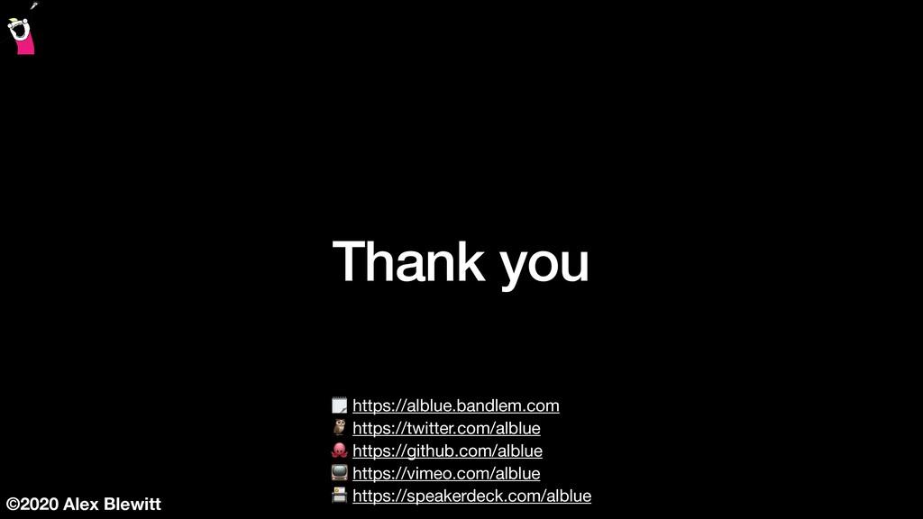 ©2020 Alex Blewitt Thank you  https://alblue.ba...