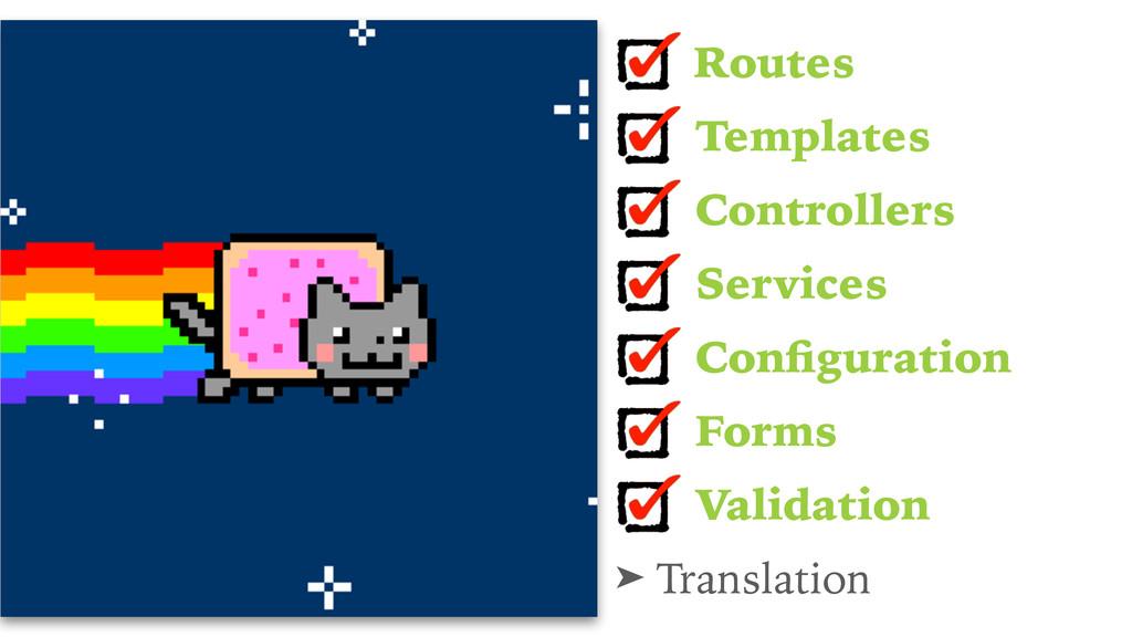 Routes Templates Controllers Services Configurat...