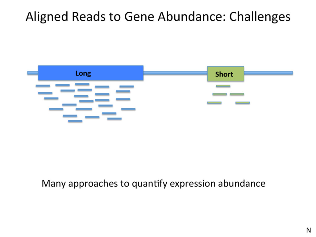 Aligned Reads to Gene Abundance: Challenges Lon...