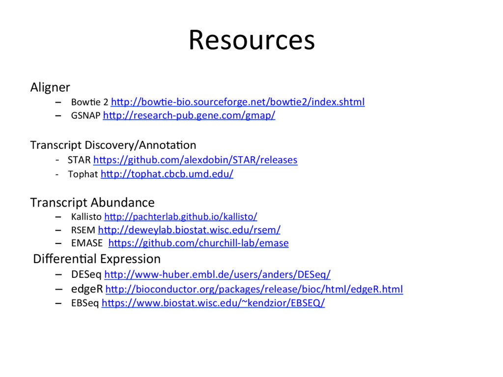 Resources Aligner –  BowJe 2 hdp://bowJe-bio.so...