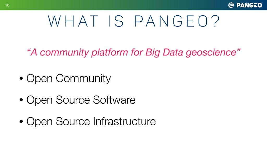 • Open Community • Open Source Software • Open ...