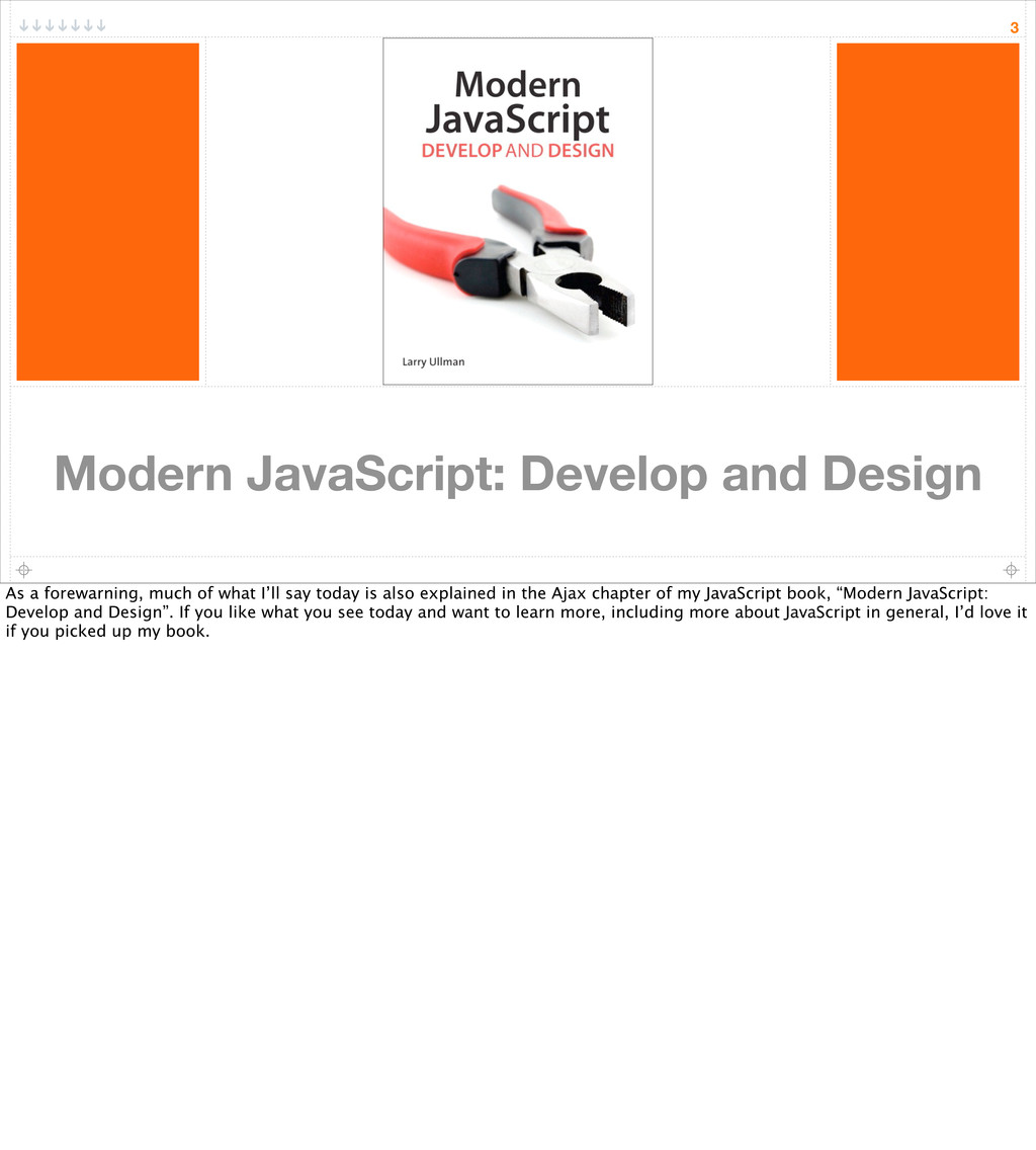 Modern JavaScript: Develop and Design 3 As a fo...