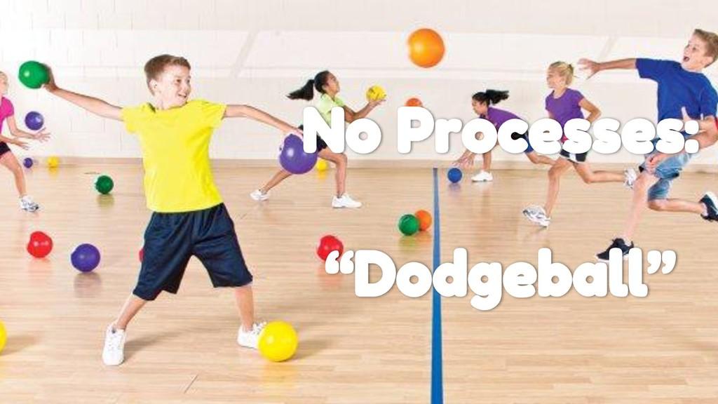 """No Processes: """"Dodgeball"""""""