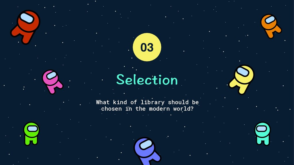 5GNGEVKQP What kind of library should be chosen...
