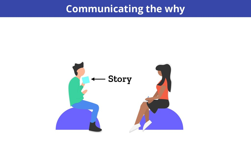 Story Communicating the why
