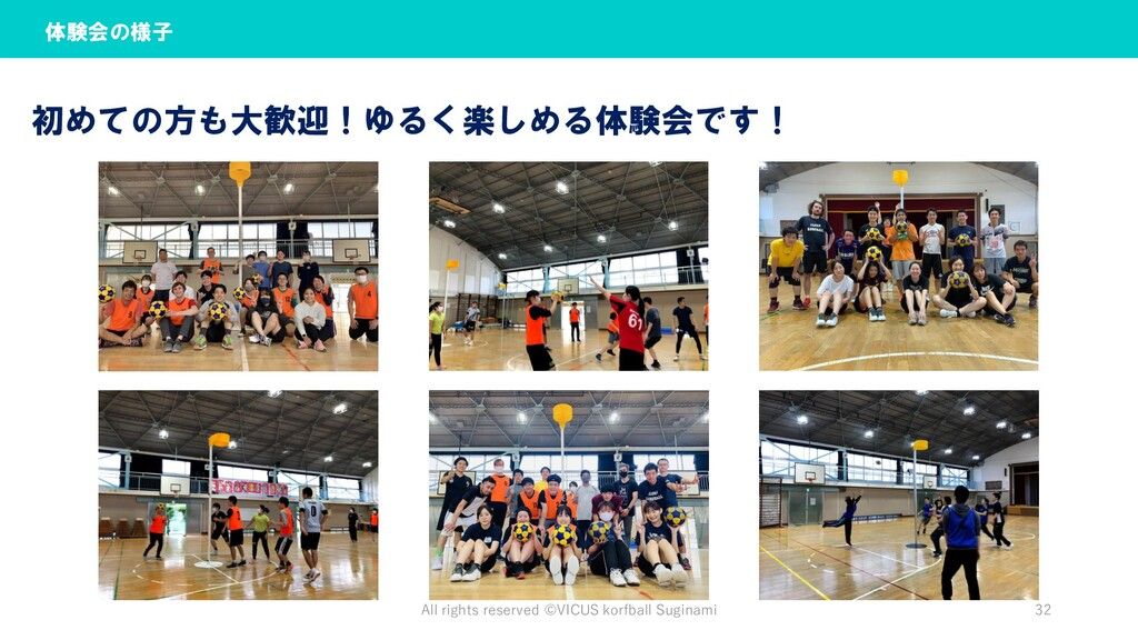 All rights reserved ©︎VICUS korfball Suginami 3...