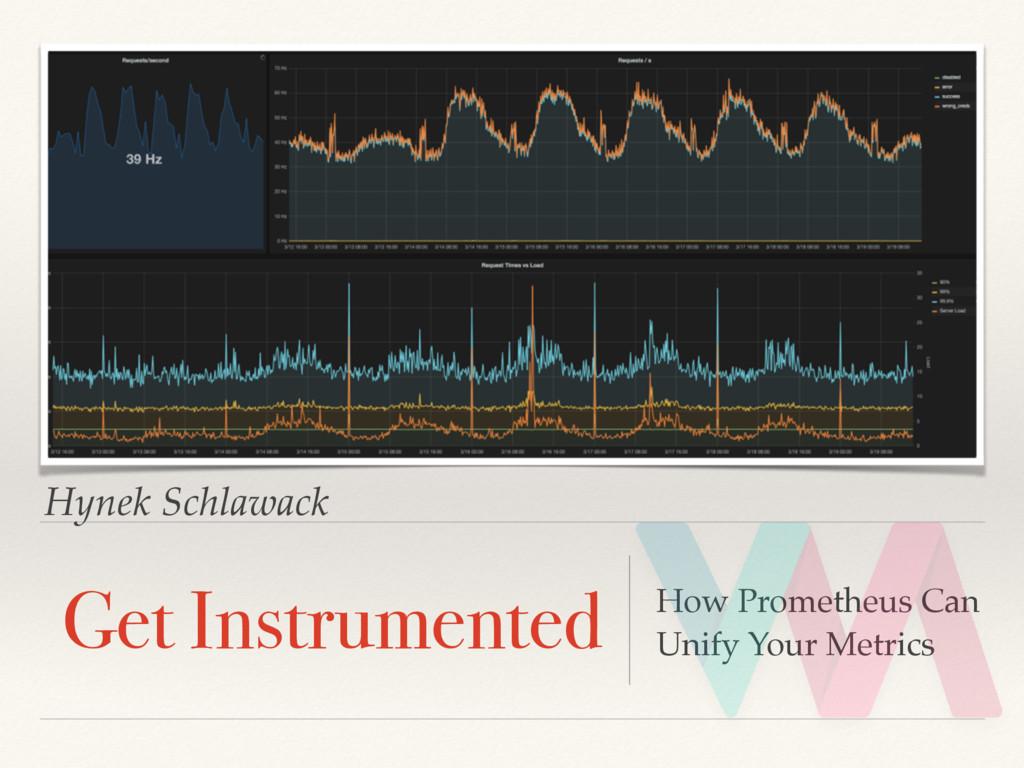 Hynek Schlawack Get Instrumented How Prometheus...