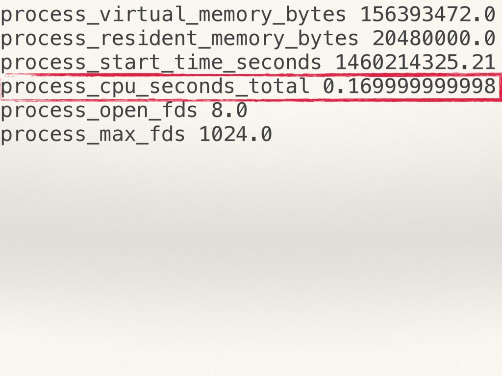 process_virtual_memory_bytes 156393472.0 proces...