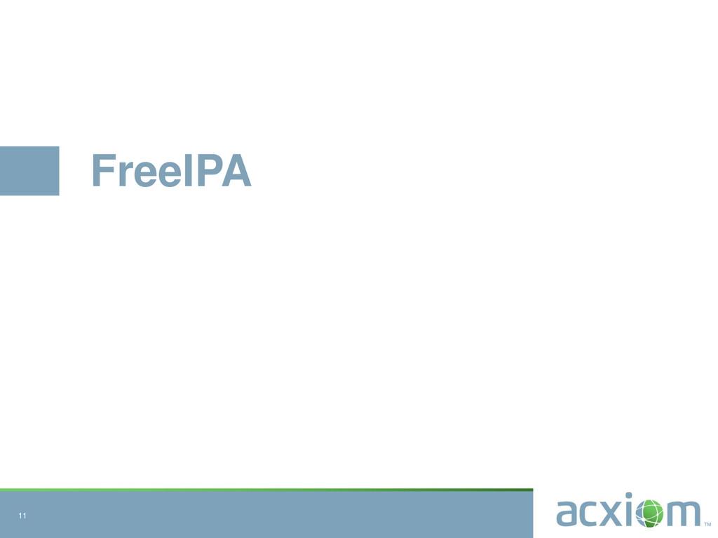 FreeIPA 11