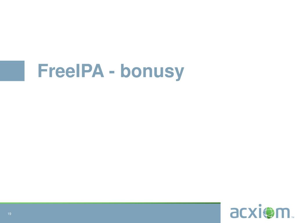 FreeIPA - bonusy 19
