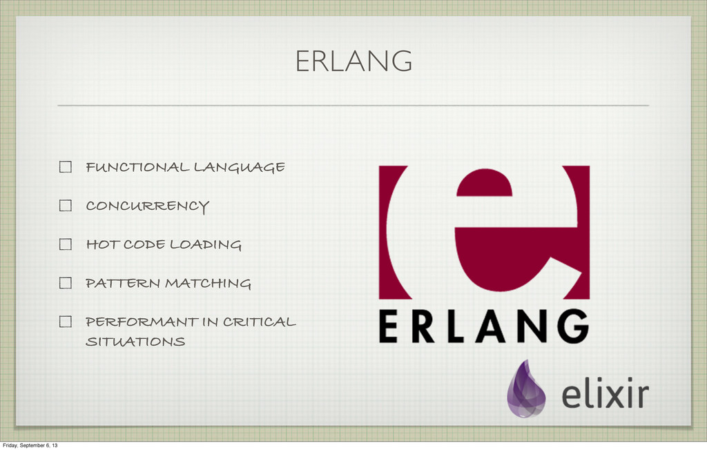 ERLANG FUNCTIONAL LANGUAGE CONCURRENCY HOT CODE...