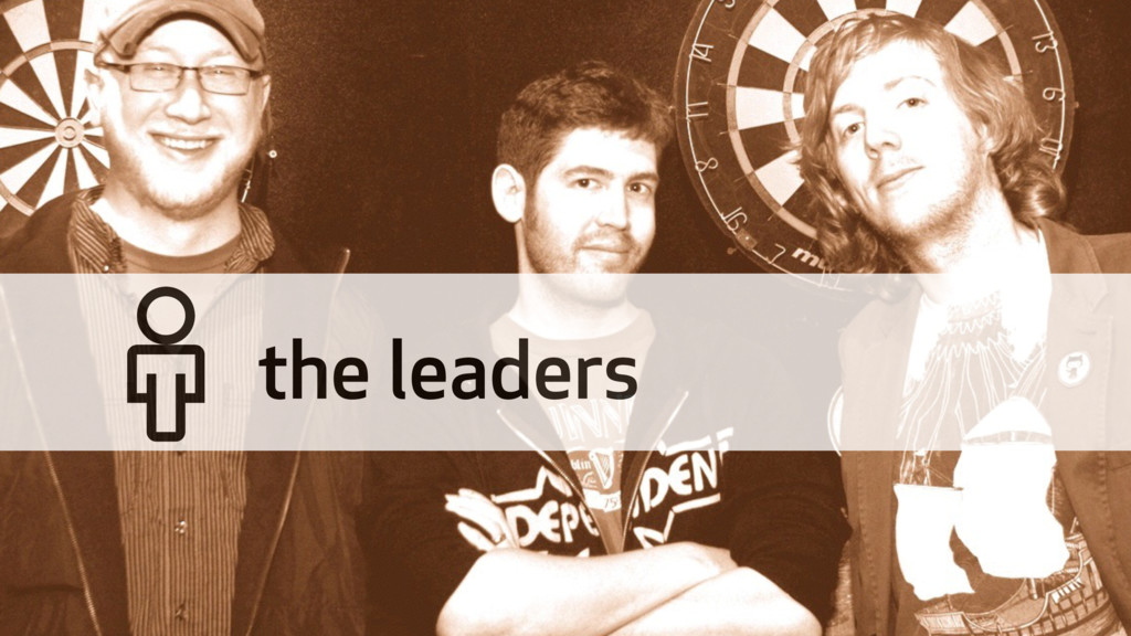 """"""" the leaders"""